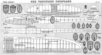 Vanguard model airplane plan