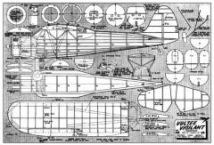Vultee Vigilant model airplane plan