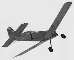 Wee Snifter model airplane plan