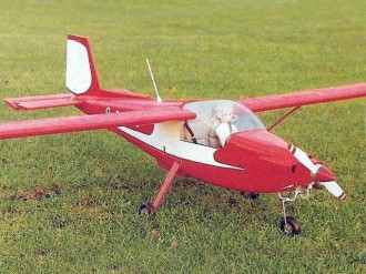 ARV Super 2 model airplane plan
