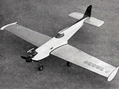 Aerocrat model airplane plan