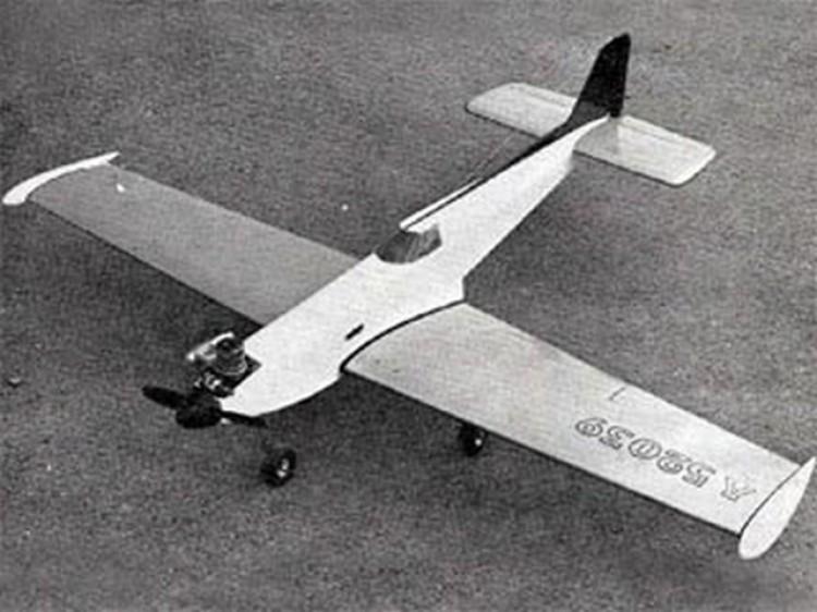 Aerocrat model airplane plan