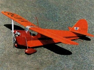 Aeronca C-1 model airplane plan