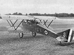Ansaldo SVA5 model airplane plan