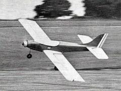 Antares model airplane plan