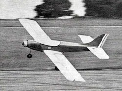 Antares model airplane plan