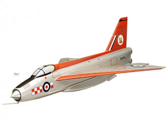 B.Ae Lightning model airplane plan