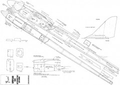 B.M.T model airplane plan