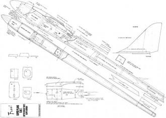 B.M.T model airplane plan