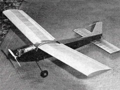 Banker model airplane plan