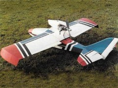 Bertie model airplane plan