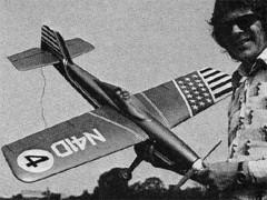 Blue Jay model airplane plan
