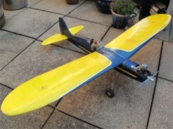 Bluebird model airplane plan