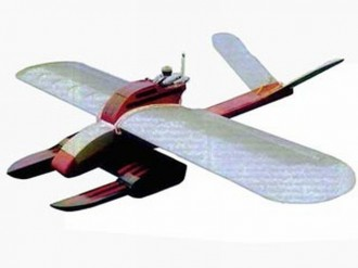 Damsel Fly model airplane plan