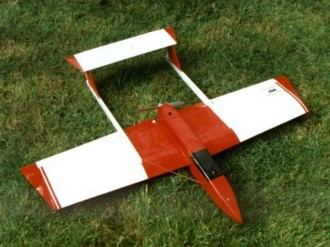 EXP-1R model airplane plan