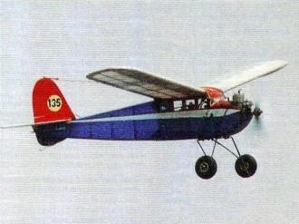 Junior 30 model airplane plan