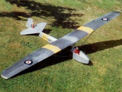 Kirby Cadet Mk 3 model airplane plan