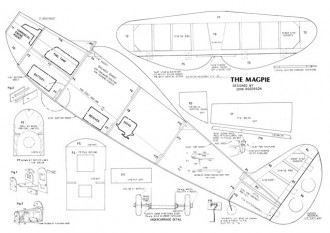 Magrie model airplane plan