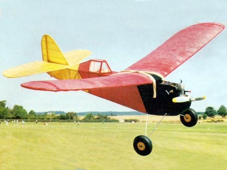 Sportster 2 model airplane plan