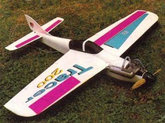 Tracer 200 model airplane plan