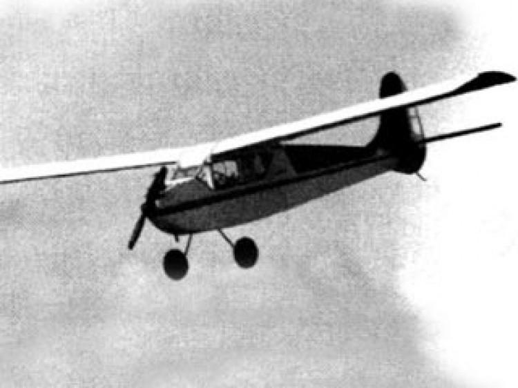 Trishette model airplane plan