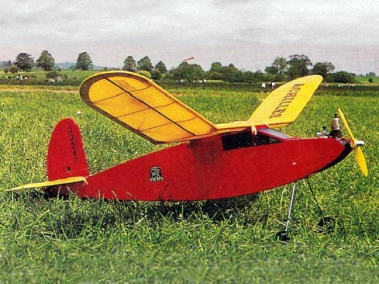 Achilles 1-1/2 model airplane plan