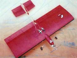 Aerobic model airplane plan