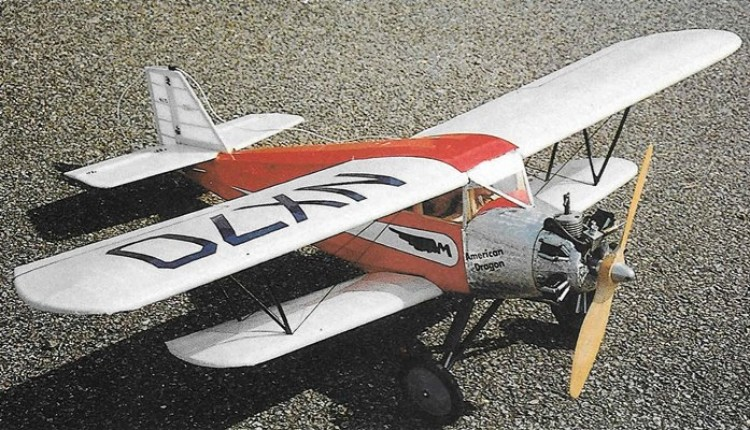American Dragon model airplane plan