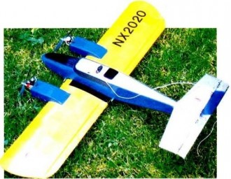 Aztec Two Step model airplane plan