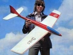 Diablo model airplane plan
