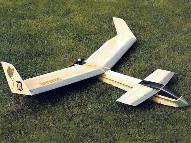 Dracon model airplane plan