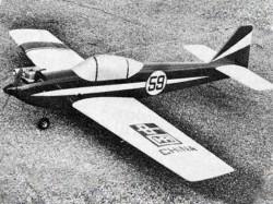 Ekko III model airplane plan