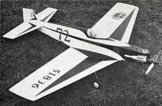 Frenzy model airplane plan
