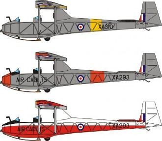 Kirby Cadet Mk 1 model airplane plan