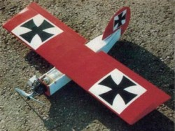 Little Bit model airplane plan