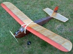 Radio Princess model airplane plan