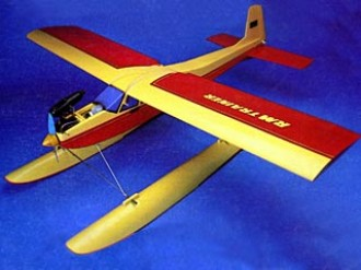 RM Trainer with Floats model airplane plan
