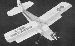 Wildthing model airplane plan