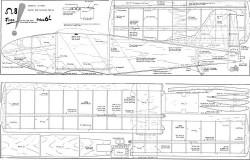 8 ohm model airplane plan