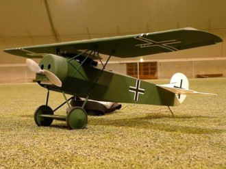 Fokker DVIII model airplane plan