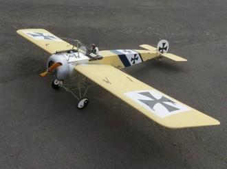 Fokker EIII model airplane plan