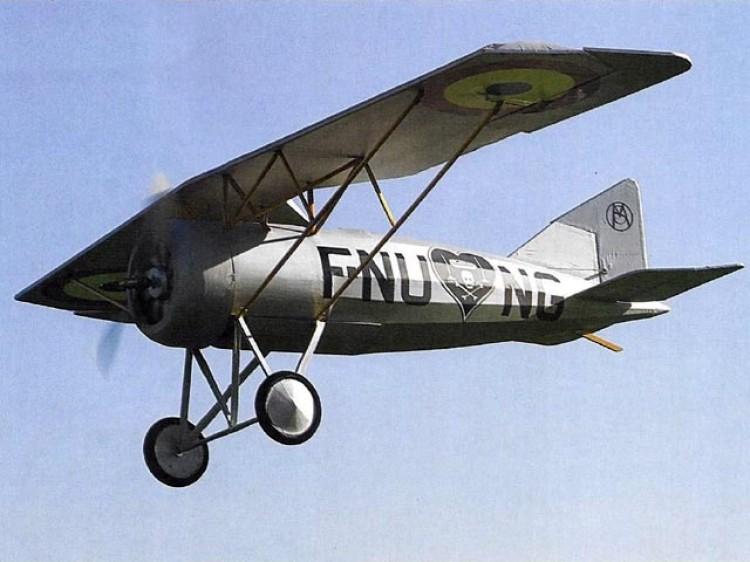 Morane Saulnier A1 model airplane plan