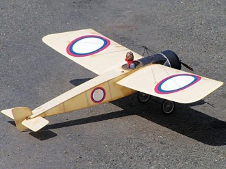 Morane Saulnier Type G model airplane plan