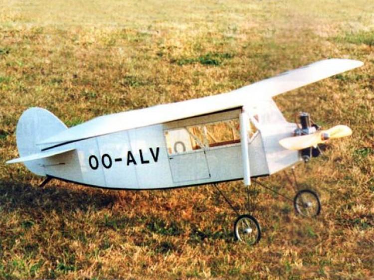 Renard R-17 model airplane plan