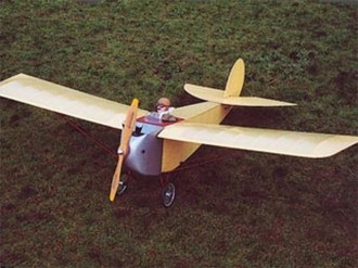 Huntington H12 model airplane plan