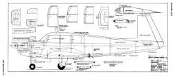 Mooney M20F Executive model airplane plan