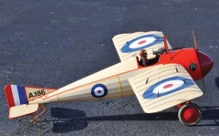 Morane Saulnier Type N model airplane plan