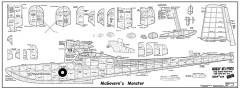 McGovern's Monster aka Custom Privateer model airplane plan