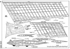 Spectre Flying Wing model airplane plan