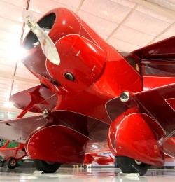 Beech Staggerwing A-17 model airplane plan